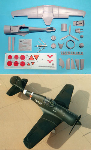 1/48 Curtiss-Wright CW 21 B Demon